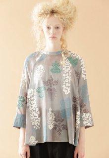 screen print blouse