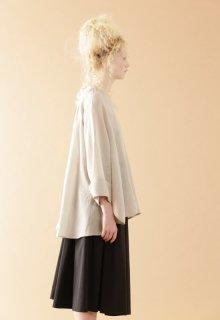light air ramie yarn blouse