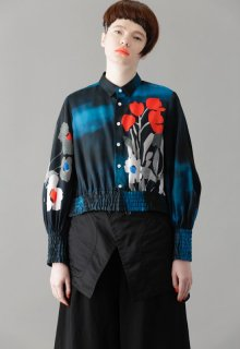 incorporate flowers blouse