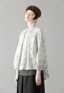 fleuron print blouse
