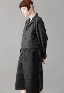 combination flannel coat