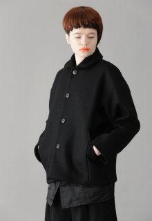 lamb river melton short coat