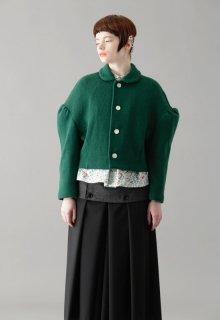 woolen quarter cardigan