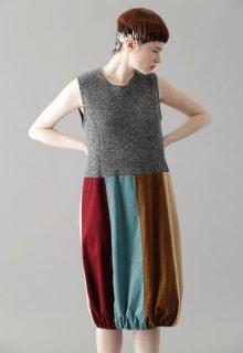 woolen quarter one-piece