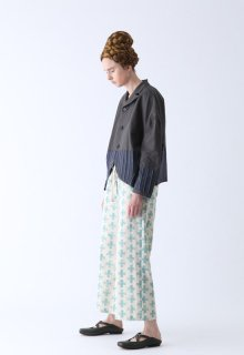 < pre-order > cross print pants