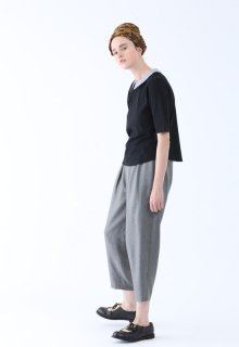 woollike serge pants
