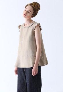 rayon linen tumbler blouse