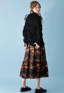 < pre-order > Reykjavík print skirt