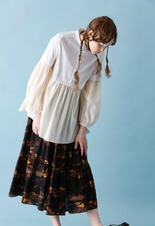 < pre-order > iceland combination blouse