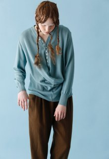 < pre-order > drape knit pull-over