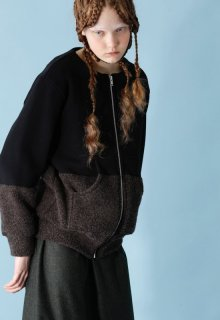 < pre-order > recycling pile cardigan