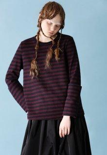 < pre-order > wool tenjiku border2 pullover