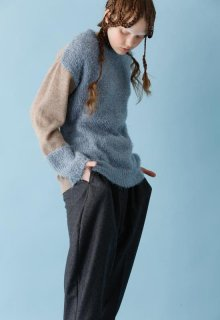 < pre-order > feather knit pull-over