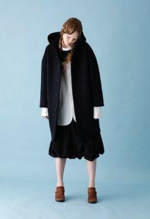 < pre-order > lamb river melton long coat
