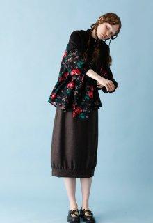 < pre-order > wool flannel skirt