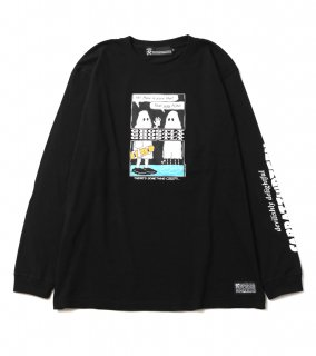 GHOSTLY L/S T (BK)