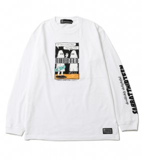 GHOSTLY L/S T (WH)