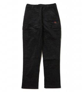 GHOST CORDUROY CARGO PANTS (BK)