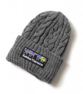 GRAVE KNIT CAP (GY)
