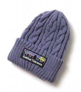 GRAVE KNIT CAP (BL)