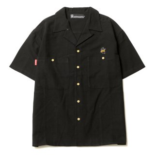 <img class='new_mark_img1' src='https://img.shop-pro.jp/img/new/icons1.gif' style='border:none;display:inline;margin:0px;padding:0px;width:auto;' />GHOST LINEN SHIRTS (BK)