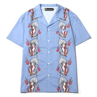 <img class='new_mark_img1' src='https://img.shop-pro.jp/img/new/icons1.gif' style='border:none;display:inline;margin:0px;padding:0px;width:auto;' />13 TALED FOX ALOHA SHIRTS (BL)