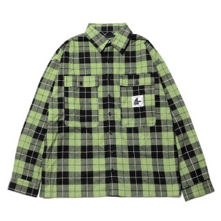 <img class='new_mark_img1' src='https://img.shop-pro.jp/img/new/icons1.gif' style='border:none;display:inline;margin:0px;padding:0px;width:auto;' />SPOOK CHECK SHIRTS (GR)