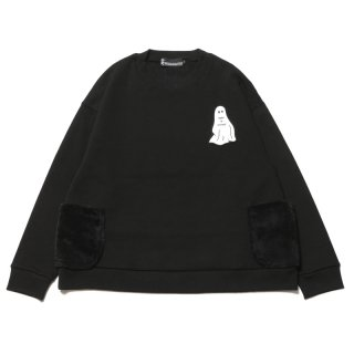 <img class='new_mark_img1' src='https://img.shop-pro.jp/img/new/icons1.gif' style='border:none;display:inline;margin:0px;padding:0px;width:auto;' />SPOOK POCKET SWEAT (BK)