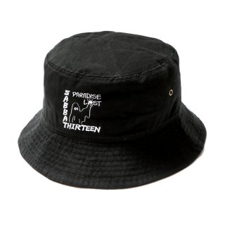 <img class='new_mark_img1' src='https://img.shop-pro.jp/img/new/icons1.gif' style='border:none;display:inline;margin:0px;padding:0px;width:auto;' />PARADISE LOST BUCKET HAT(BK)