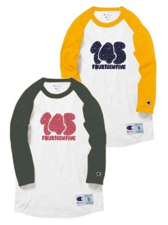 145 Rough logo Raglan