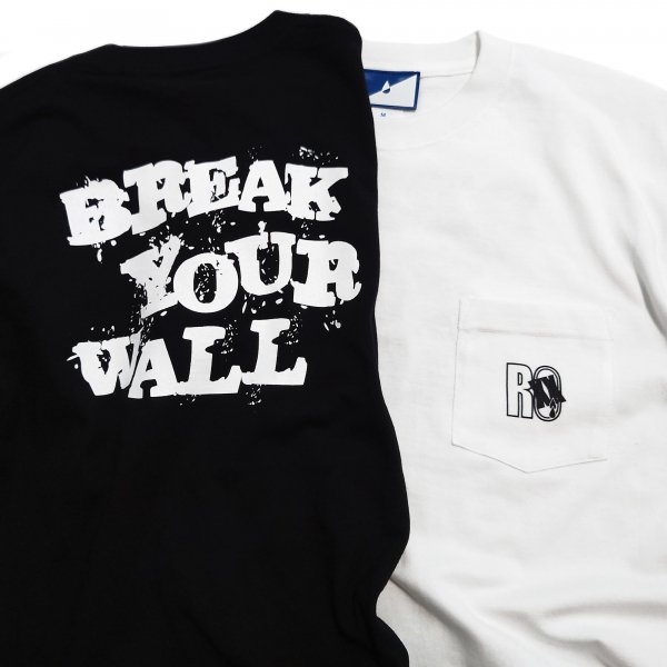 BREAK YOUR WALL Pocket-Tee<img class='new_mark_img2' src='https://img.shop-pro.jp/img/new/icons15.gif' style='border:none;display:inline;margin:0px;padding:0px;width:auto;' />