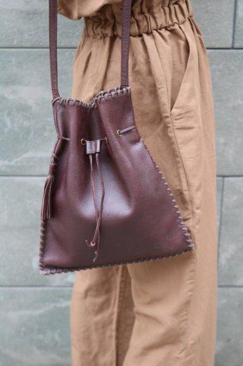 【vintage】Yves Saint Laurent / fringe shoulder leather bag