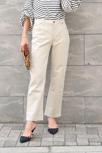 【vintage】KENZO / logo button straight chino pants