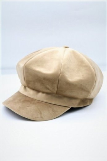 <img class='new_mark_img1' src='https://img.shop-pro.jp/img/new/icons57.gif' style='border:none;display:inline;margin:0px;padding:0px;width:auto;' />velours casquette / beige