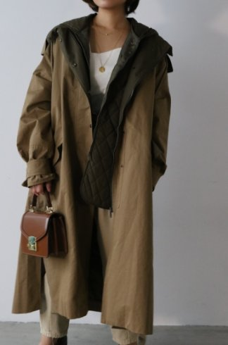 <img class='new_mark_img1' src='https://img.shop-pro.jp/img/new/icons20.gif' style='border:none;display:inline;margin:0px;padding:0px;width:auto;' />3way mods coat (liner down vest set) / khaki beige