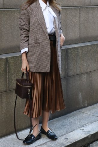 <img class='new_mark_img1' src='https://img.shop-pro.jp/img/new/icons57.gif' style='border:none;display:inline;margin:0px;padding:0px;width:auto;' />gingham check pattern jacket / brown