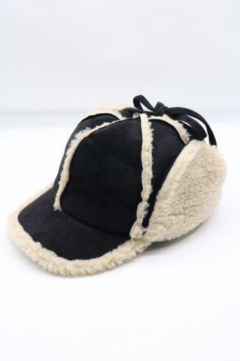 mouton flight cap / black