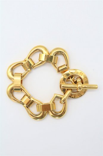 【vintage】CELINE / horseshoe chain bracelet