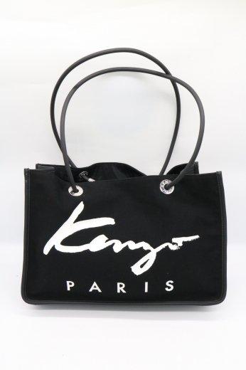 【vintage】KENZO / logo canvas tote bag