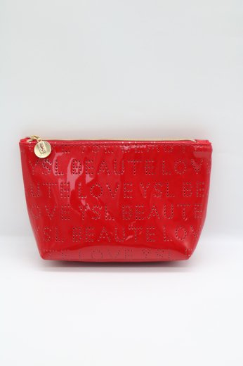 【vintage】Yves Saint Laurent / punching logo pouch