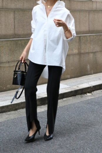 <img class='new_mark_img1' src='https://img.shop-pro.jp/img/new/icons57.gif' style='border:none;display:inline;margin:0px;padding:0px;width:auto;' />original waist gather cut cuff easy pants