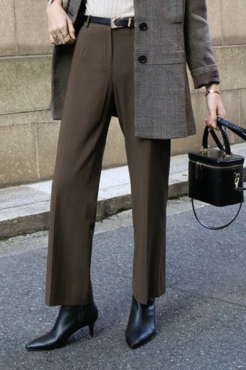 【vintage】CELINE / center press slacks