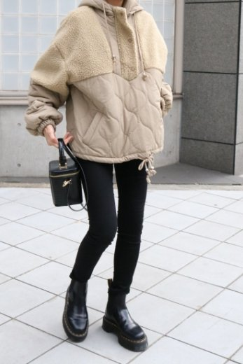 <img class='new_mark_img1' src='https://img.shop-pro.jp/img/new/icons57.gif' style='border:none;display:inline;margin:0px;padding:0px;width:auto;' />boa docking quilting anorak / beige