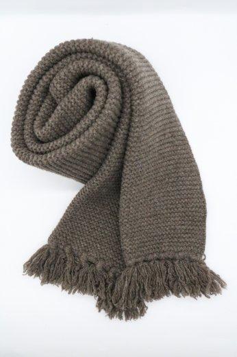 【vintage】Yves Saint Laurent / fringe wool muffler