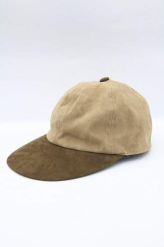 【vintage】Christian Dior / CD embroidery suede cap