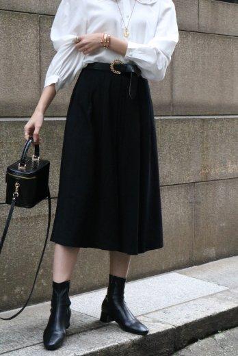 【vintage】Christian Dior / waist tuck flare skirt