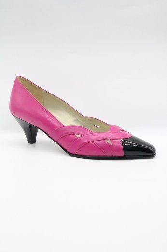 【vintage】Yves Saint Laurent / pointed toe bicolor pumps 36