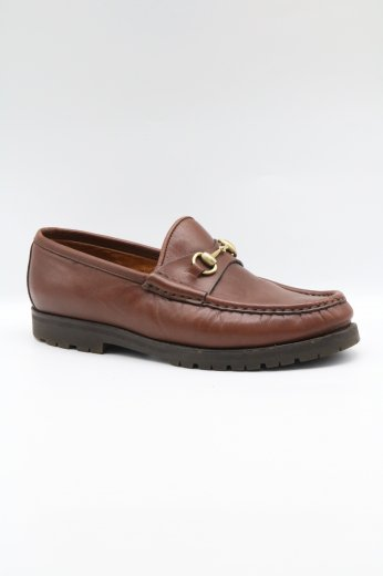 <img class='new_mark_img1' src='https://img.shop-pro.jp/img/new/icons14.gif' style='border:none;display:inline;margin:0px;padding:0px;width:auto;' />【vintage】GUCCI / hose bit loafer 35 1/2