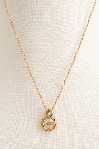 【vintage】GIVENCHY / G top chain necklace
