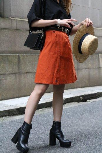 【vintage】Christian Dior / CD motif logo wrap like skirt